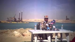 اللواء كامل الوزير يعلن بدء التدبيش فى عدد من قطاعات القناة