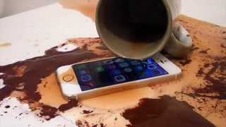 Impervious waterproofing spray for the iphone