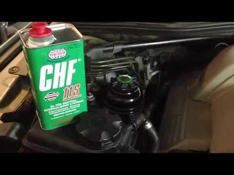Bmw Power Steering Fluid Replacement Diy Youtube