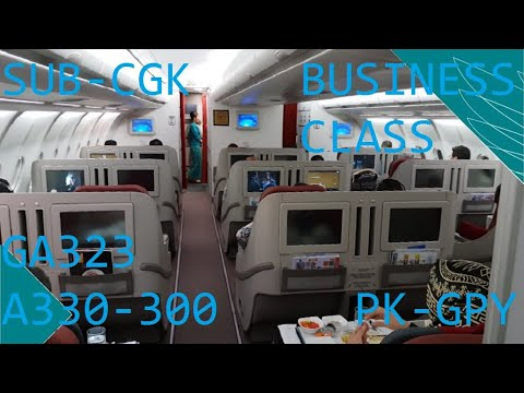 Terbang dengan Airbus 330-300 Garuda Indonesia #39 Flight Report Garuda Indonesia Mp3