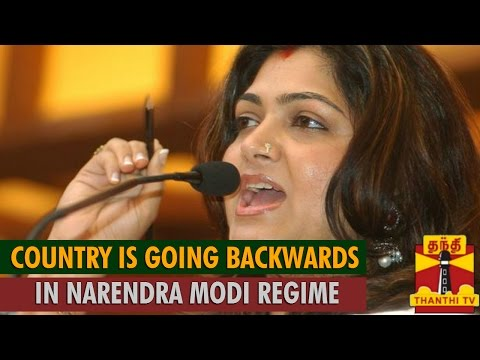 Our Country is Going Backwards in Narendra Modi Regime - Khushboo, Congress Spokesperson...