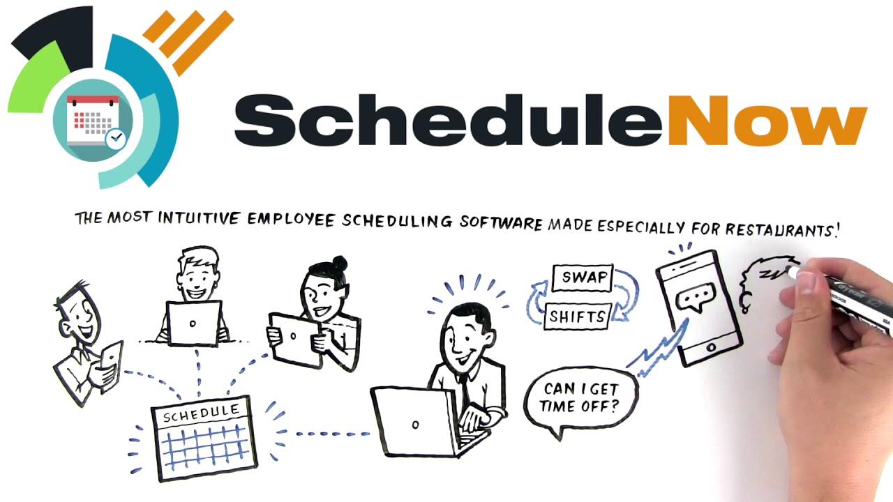 schedulenow restaurant scheduling made simple