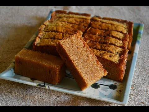 Iyengar Bakery Style Rava Cake Recipe - Eggless Version