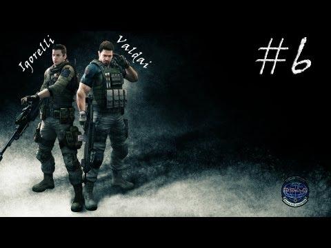 Смотреть прохождение игры [Coop] Resident Evil 6. Серия 18 - Червяк, мухи и вертолет.