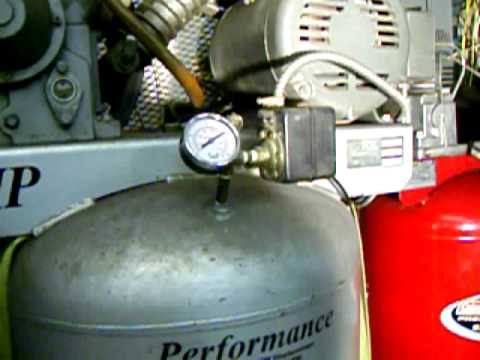 Air Compressor Comparison 2stage Vs Single Stage Youtube