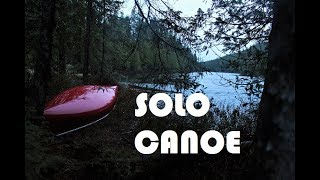 Solo Canoe - 10 Days