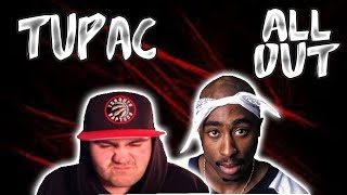 2Pac - All Out - TUPAC RAPS WITH RAW POWER VOICE! NOT WELL KNOWN DISS SONG! | Reaction