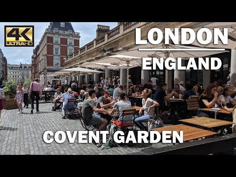 LONDON TOUR | Walking around Covent Garden London
