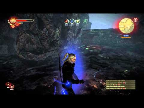 Witcher 2 Malena Quest Gamplay