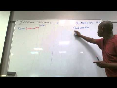 Income Statement Explained