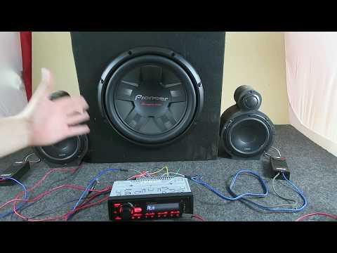 Prueba de sonido del nuevo paquete Pioneer de AudioOnline
