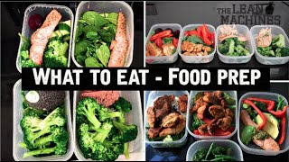 What To Eat - Healthy Food Prep