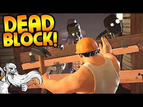 """Dead Block Gameplay - """"THE SECRET LOST ZOMBIE GAME!!!""""  - Story Mode Let's Play"""