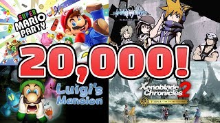 20,000 SUBSCRIBERS!  — Xenoblade 2 Torna and The World Ends With You! Nintendo Marathon PART 3