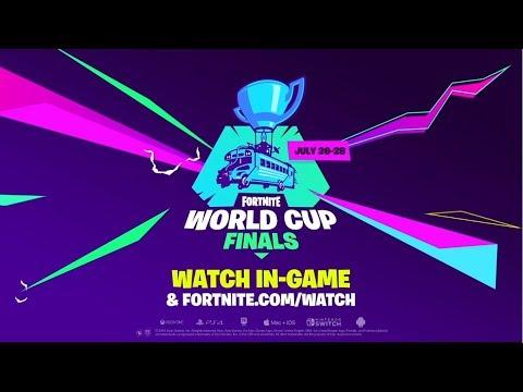 """Finales de la Copa Mundial de Fortnite: """"El Camino para llegar hasta Aquí"""""""