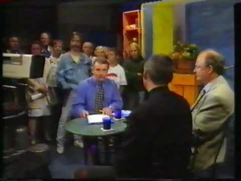 Öppet Hus Sveriges Television Luleå 1996