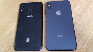 BLU Vivo XL4 vs Iphone XS Max - Fliptroniks.com