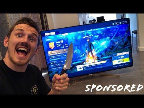 UNBOXING THE NEW 2018 LG SUPER UHD TV!