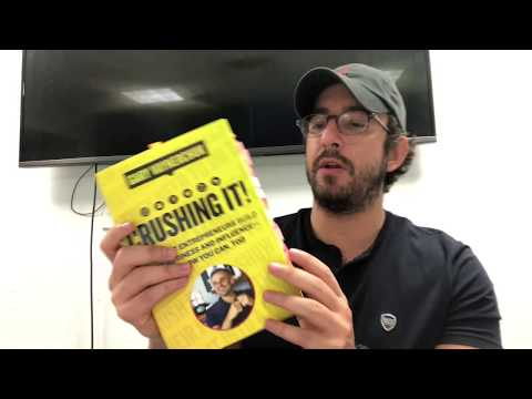 My honest book review on Crushing It! by Gary Vaynerchuck
