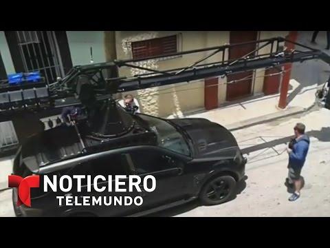 La Habana, Cuba, escenario de una película de Hollywood | Noticiero | Noticias Telemundo