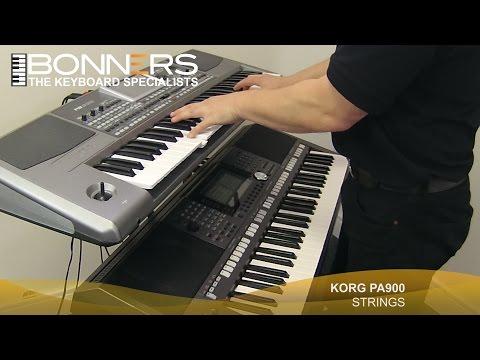 Korg PA900 vs Yamaha PSR S970 Demo Comparison