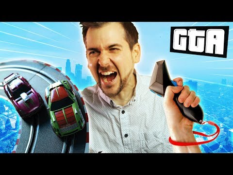 RACING ON A SCALEXTRIC TRACK | GTA 5 Races