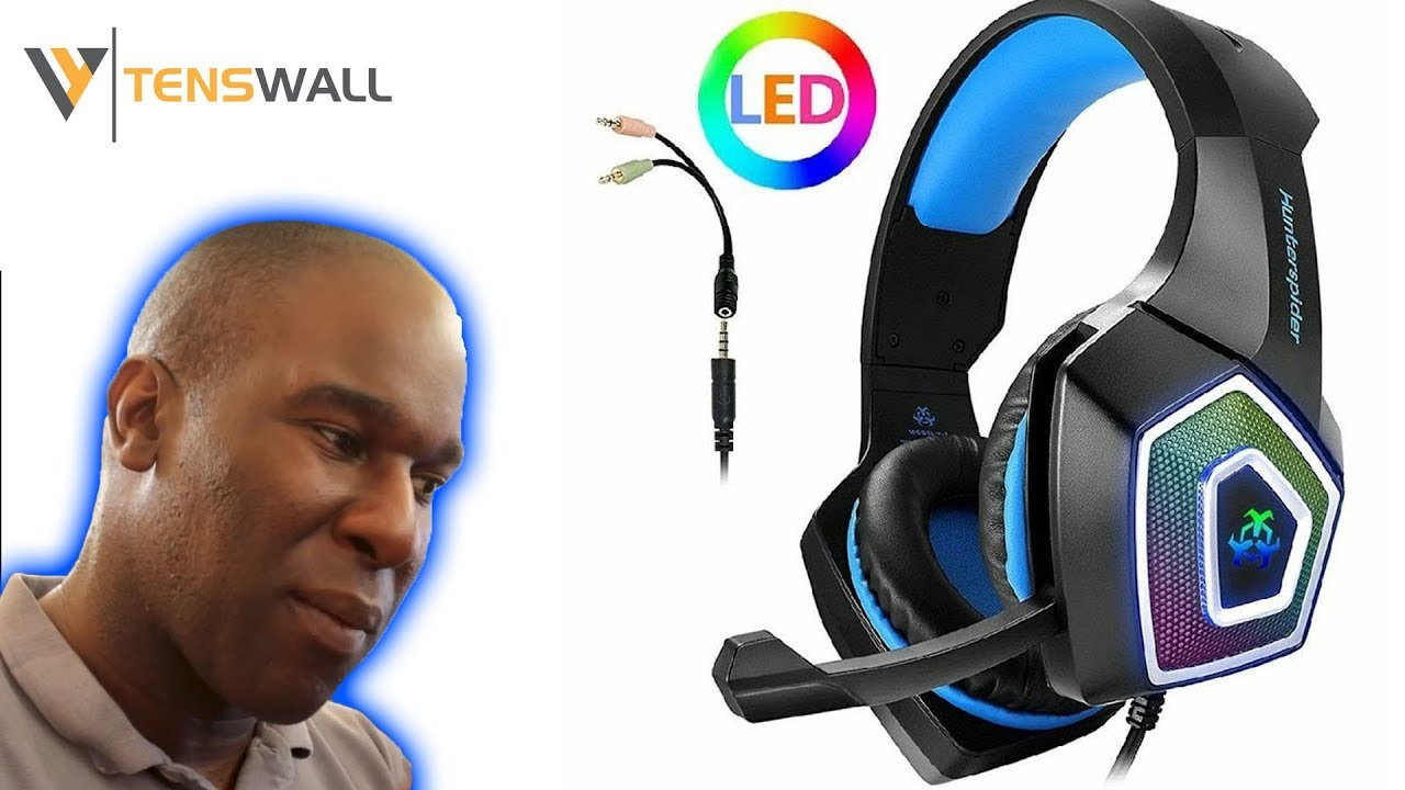 Tenswall HunterSpider V1 Gaming Headset YES THEY ARE UNDER £20!!