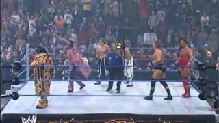 Armageddon 2006 - Paul London & Brian Kendrick VS William Regal & Dave Taylor VS Hardyz VS MNM  #1
