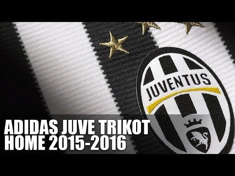 Adidas Juventus Turin Trikot 2015/2016 - YouTube
