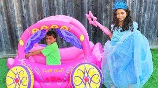هايدي تختارلي فستان العيد أميرات!  حفلة الاميرة Heidi و Zidane