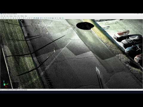 VisionLidar - Tutorial - Basic Virtual Surveying
