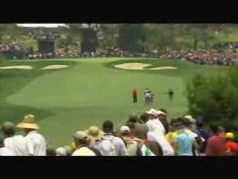 Tiger Woods perfect golf shot execution 2008 US Open