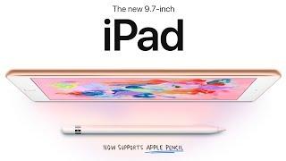 New 2018 iPad Announced! $329, A10 Fusion & Apple Pencil iPad 検索動画 26