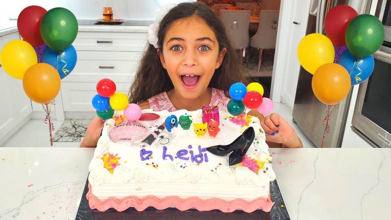 Heidi and The Happy Birthday Cake Story
