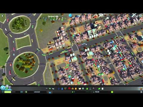 Cites: Skyline Industrial Roads Layout