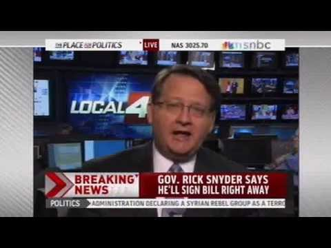 Congressman Gary Peters on Thomas Roberts - Solidarity Against the Right to Work for Less