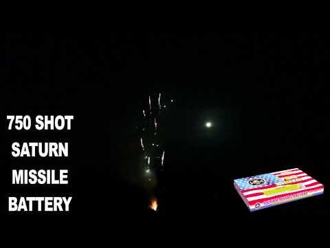 750 shot Saturn Missile