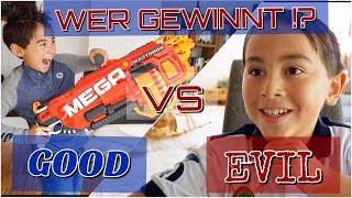 😱 Nerf Schlacht Battle ESKALATION 💥| Vater vs Sohn | Johann Loop