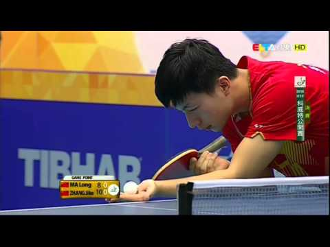2016 Kuwait Open (Ms-Final) MA Long - ZHANG Jike [HD1080p] [Full Match/Chinese]