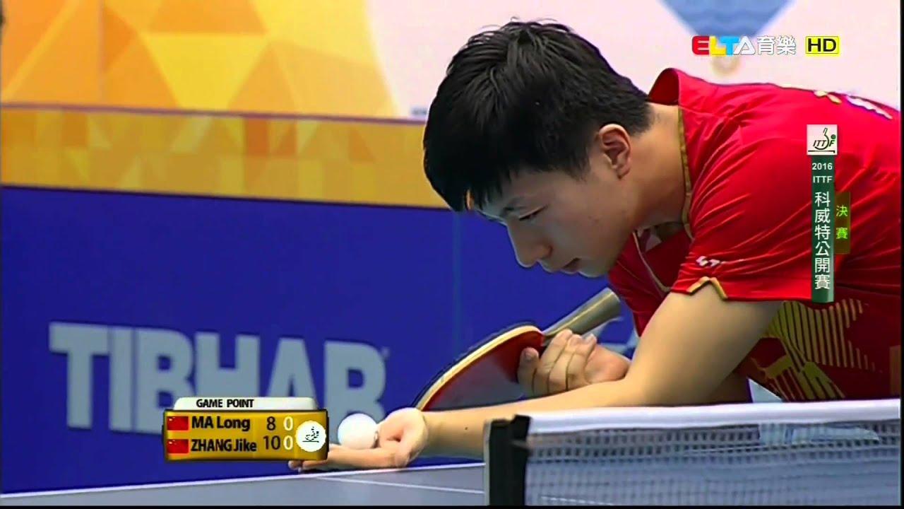 2016 Kuwait Open Ms Final Ma Long Zhang Jike Hd1080p Full