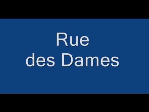 Rue des Dames Paris Arrondissement  17e