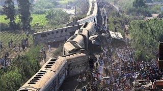 Train Accident खतौली मुज़फ्फरनगर मे हुआ साल का सबसे बड़ा रेल हादसा  FM News 2017