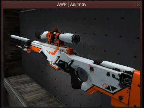 Counter strike source asiimov awp animation youtube - Awp asiimov css ...