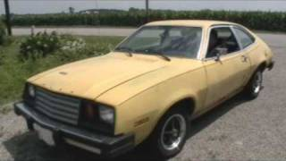 1980 Ford Pinto Drive Away and Walkaround