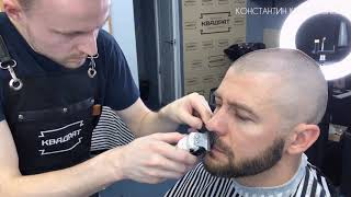 СТРИЖКА ПОД МАШИНКУ / Уроки мужской стрижки / Стрижка насадками