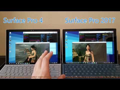 Thumbnail: Surface Pro 2017 - Does it Throttle? - Old vs. New - Sustained Gaming Performance
