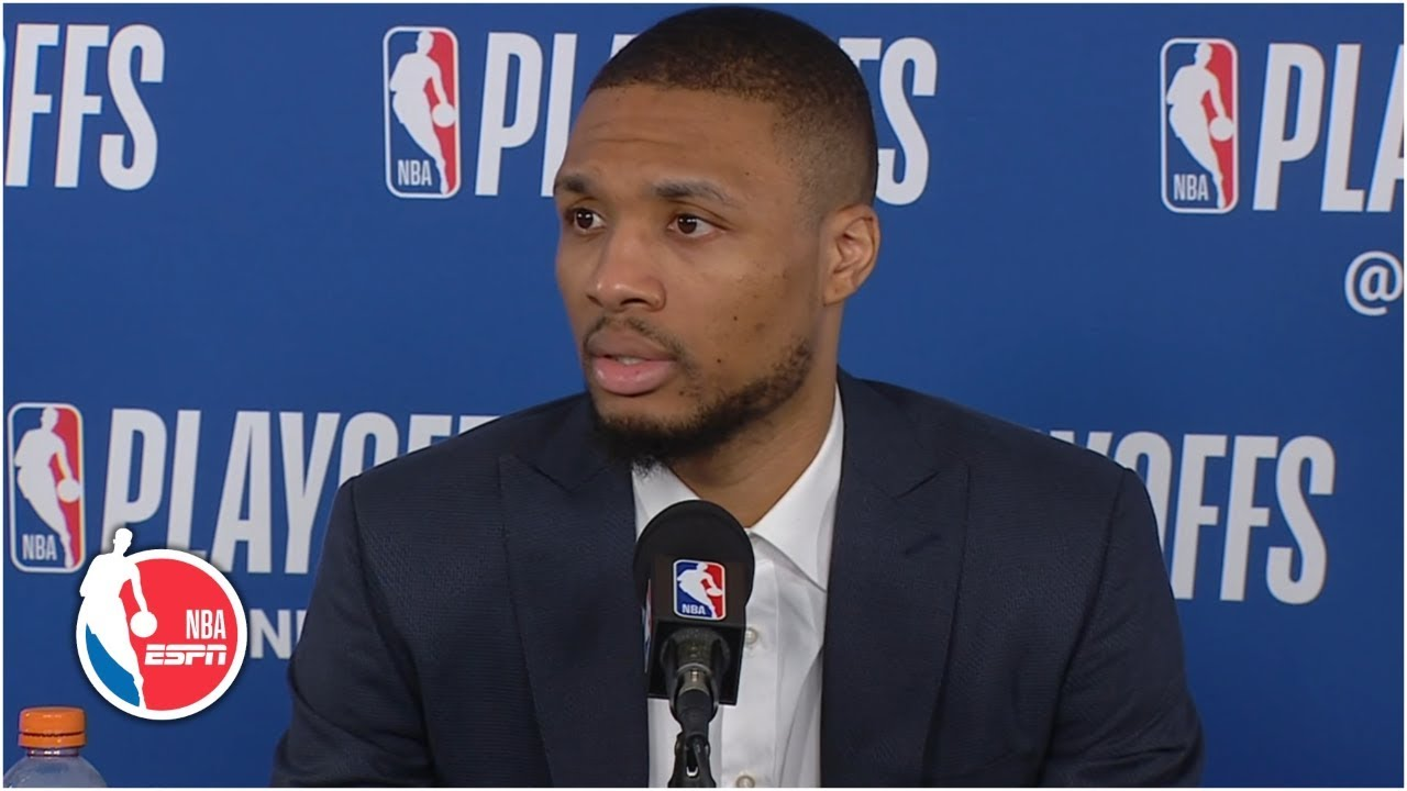 d09ecf41b6f Damian Lillard on Blazers  doubters  You don t become the No. 3 seed by  luck