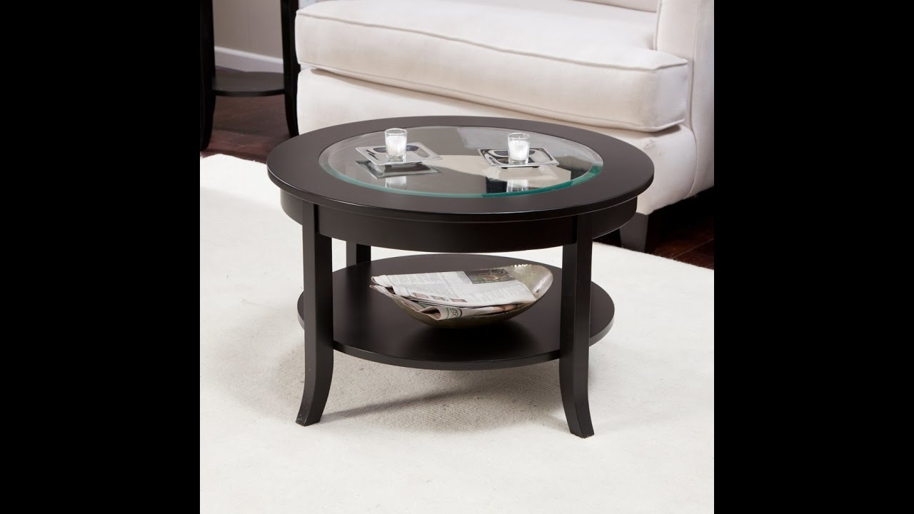 Merveilleux Small Round Coffee Table Glass Top Ideas