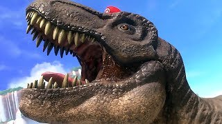 Super Mario Odyssey Gameplay | Dinosaurs, New Power Ups & More All HD