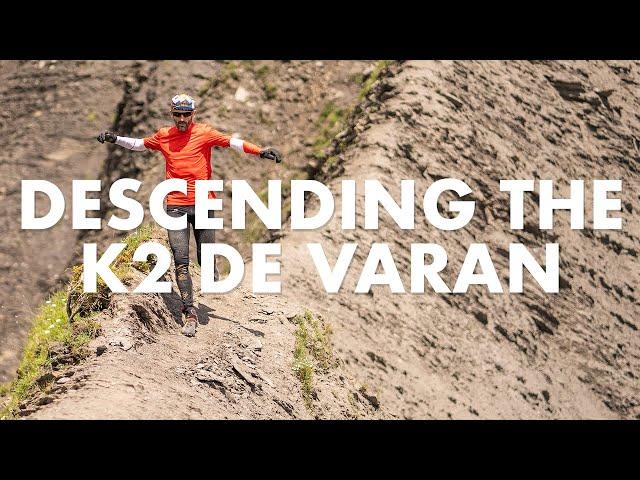 Descending the K2 de VARAN w/ Greg Vollet | Salomon Running